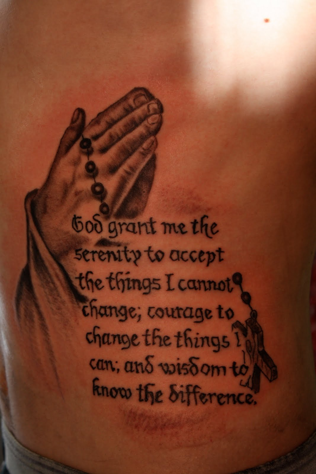 Serenity Prayer Tattoos Designs, Ideas And Meaning