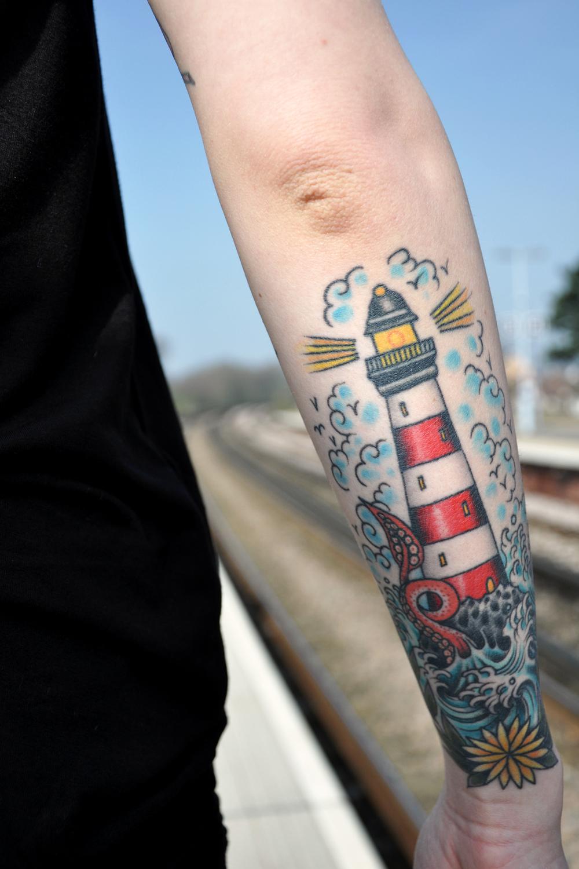 20+ Lighthouse Tattoos  Tattoofanblog