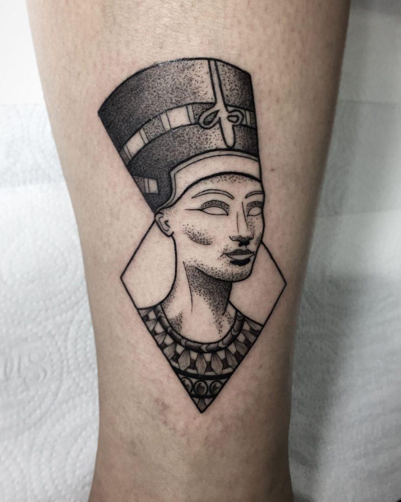 Queen Nefertiti Tattoo Meaning : queen, nefertiti, tattoo, meaning, Nefertiti, Tattoos, Designs,, Ideas, Meaning