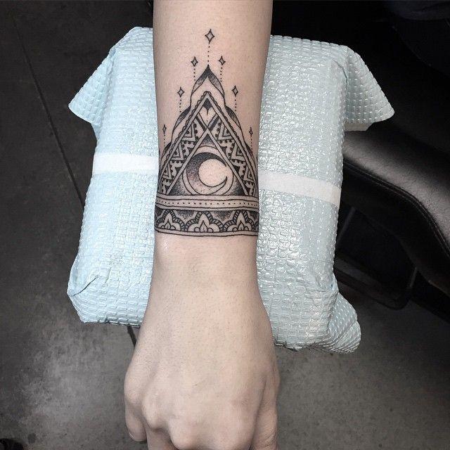 Mandala Wrist Tattoo Designs, Ideas And Meaning  Tattoos