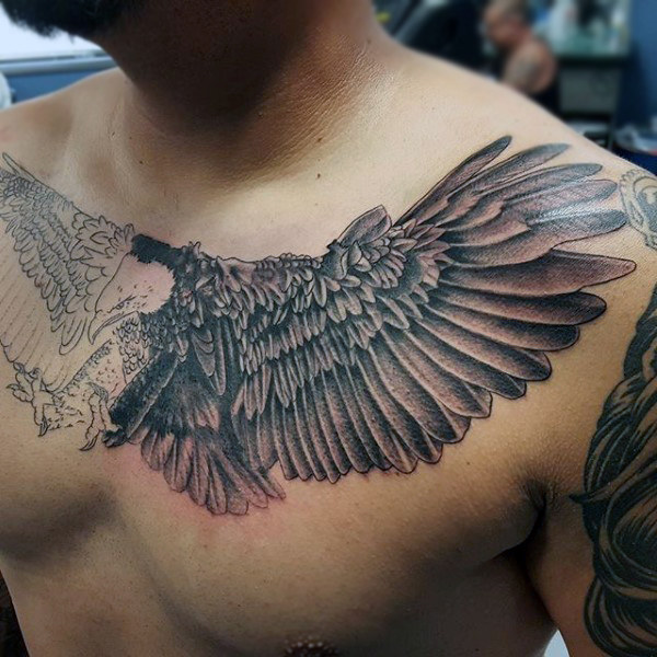 Eagle Chest Tattoo Designs, Ideas And Meaning Tattoos
