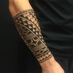 tribal forearm tattoos designs meaning