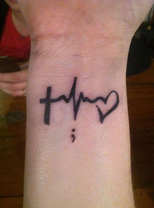 Heartbeat Tattoos Meaning : heartbeat, tattoos, meaning, Heartbeat, Wrist, Tattoo, Designs,, Ideas, Meaning, Tattoos