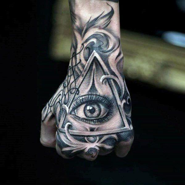 Hand Tattoos Men Ideas