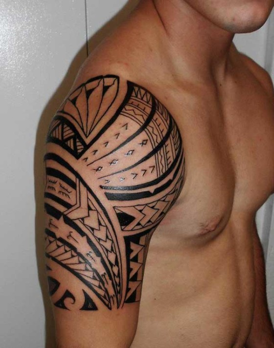 Tribal Tatoo On Shoulder : tribal, tatoo, shoulder, Tribal, Tattoos, Designs