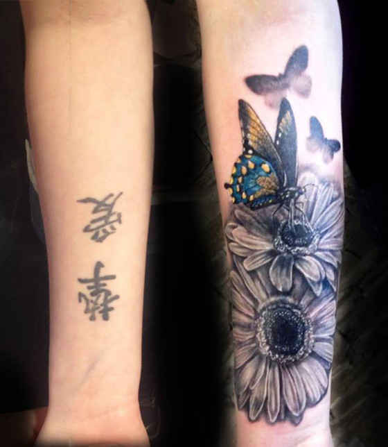 Cover Up Tattoo Ideas On Wrist