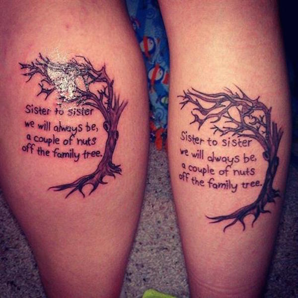Awsome Matching Tattoos For Brothers