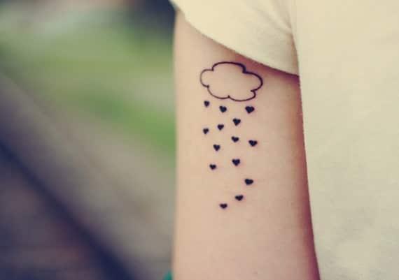 cloud tattoos cute