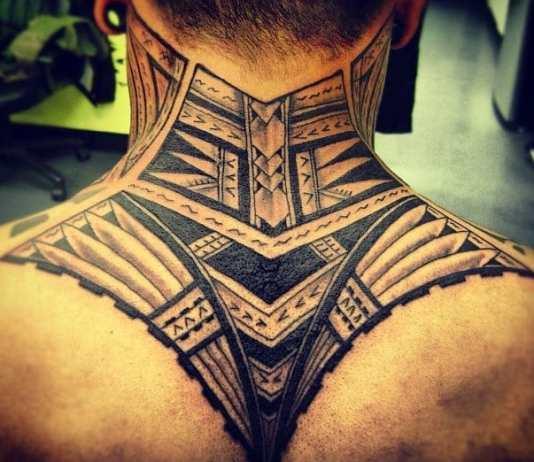 tattoos for men on neck