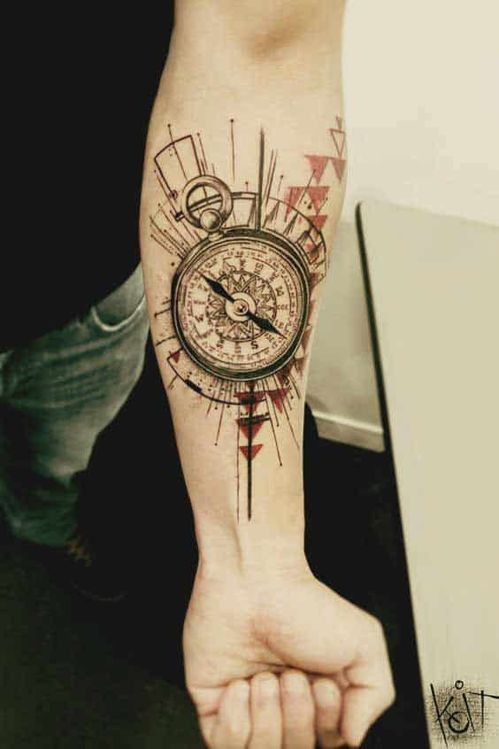 coolest forearm tattoos design