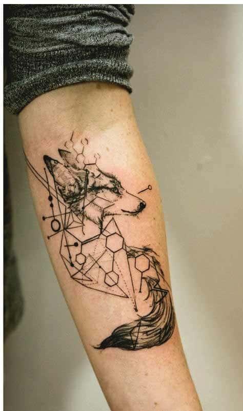 coolest forearm tattoos design