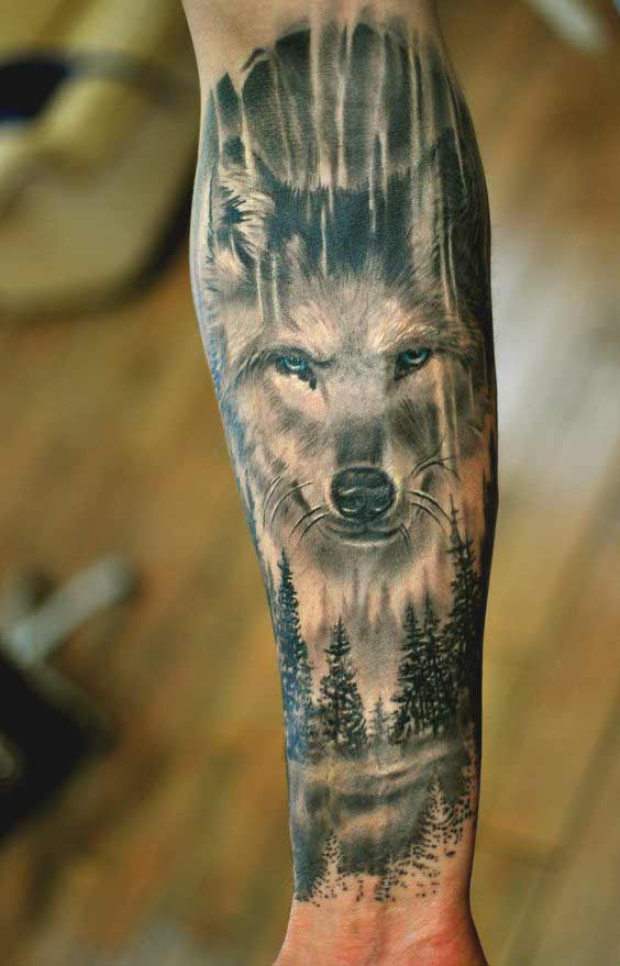 Simple Inner Forearm Tattoos For Men