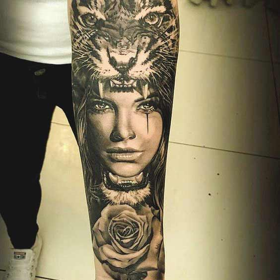 Tattoo Ideas Forearm Girls