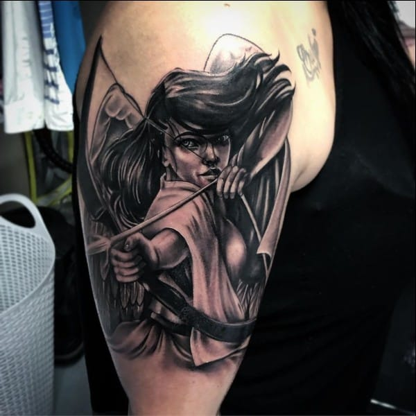 55 Most Amazing Angel Tattoos And Designs For Men And Women