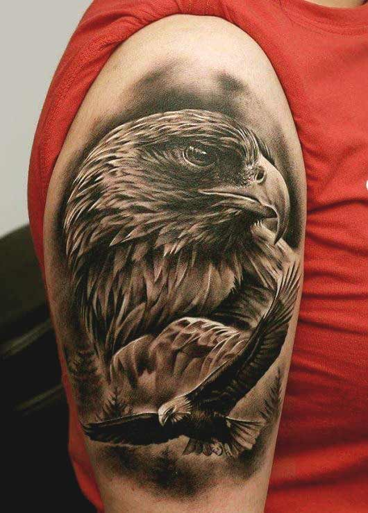 3d Tattoo Designs For Men Shoulder