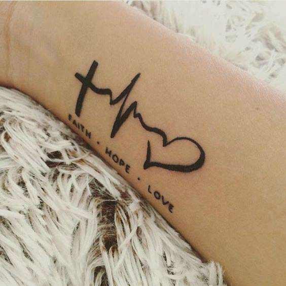 perfectly cute faith hope love