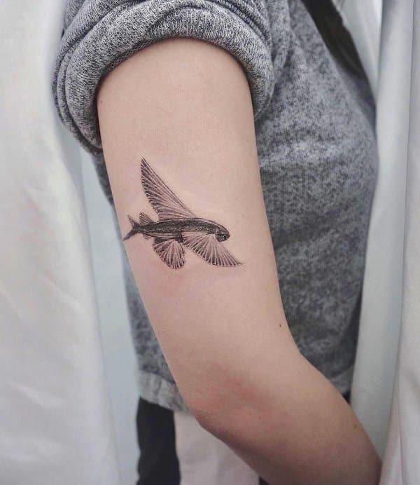 simple fish tattoos