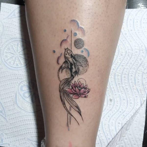 art fish tattoo