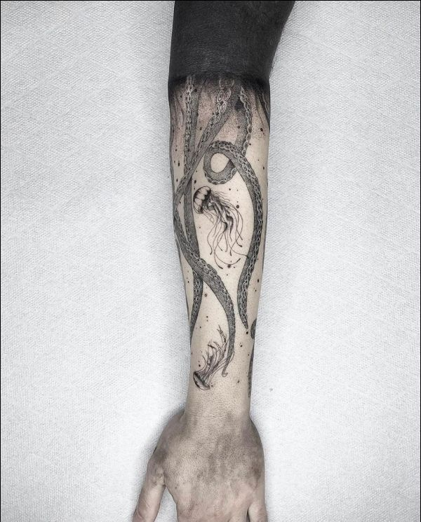 octopus tattoos for guys