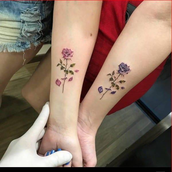 matching tattoos for girls
