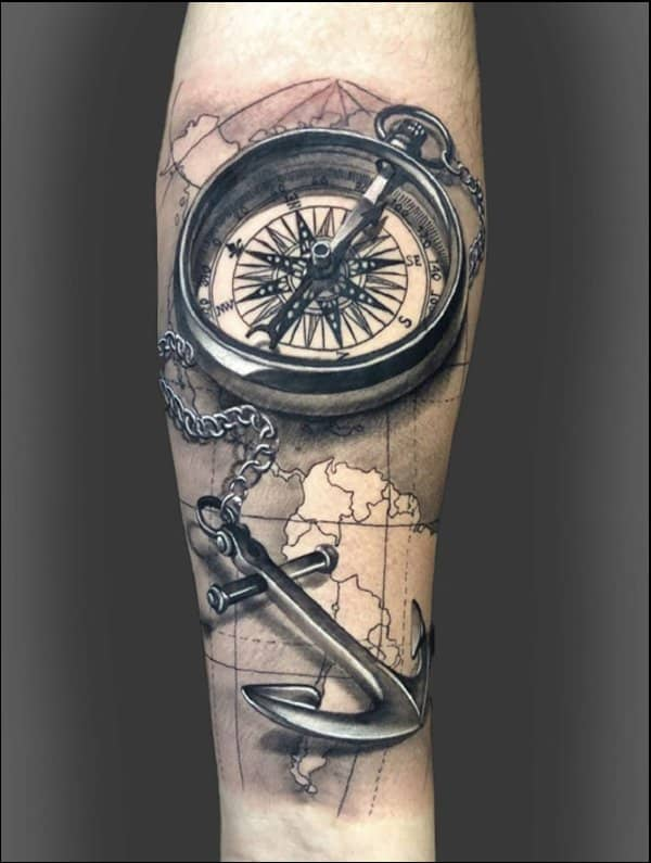 Anchor Tattoos 50 Awesome Anchor Tattoo Designs For Men And Women Though they do remain pretty detailed and masculine, they tend to have a beautiful quality to them. anchor tattoos 50 awesome anchor tattoo