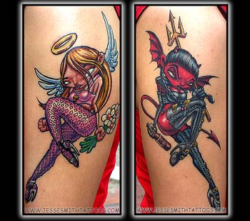 devil tattoos meaning