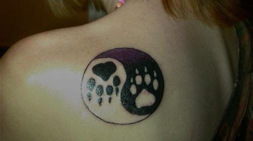 Fingerprints Yin Yang Pet Tattoo Design Tattoos Tatuajes Tatouages