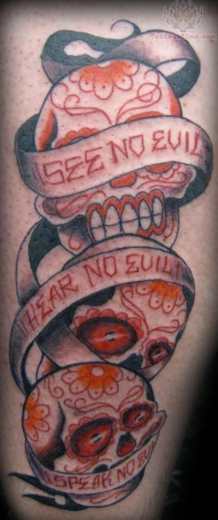 Hear See Speak No Evil Tattoo : speak, tattoo, Evil,, Speak, Tattoo