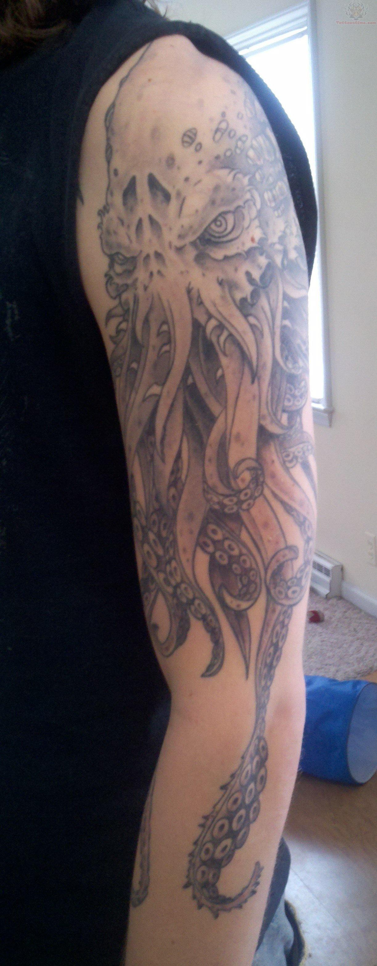 Cthulhu Tattoo Sleeve : cthulhu, tattoo, sleeve, Sleeve, Cthulhu, Tattoo