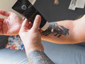 TattooMed daily tattoo care Anwendung