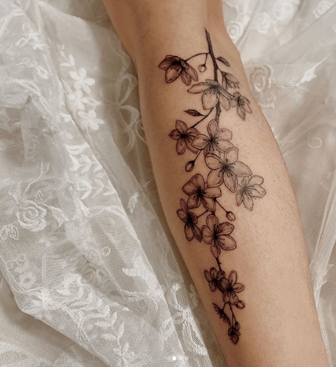 Cherry Blossom Tattoo Designs Ideas To Try In 2020 Tattoo Stylist