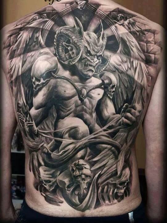 Satanic Tattoos For Men
