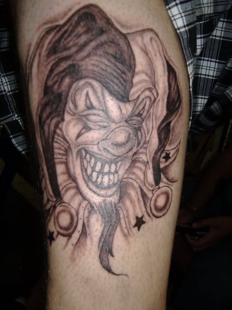 Jester Tattoo Design : jester, tattoo, design, Colorful, Jester, Tattoos, Unique, Amazing, Meanings, TattoosWin