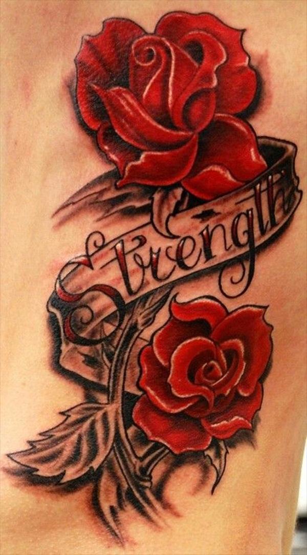 Mens Rose Sleeve Tattoo Designs