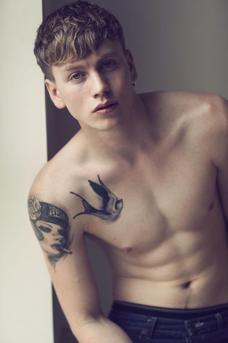 Simple Man Tattoo At Body