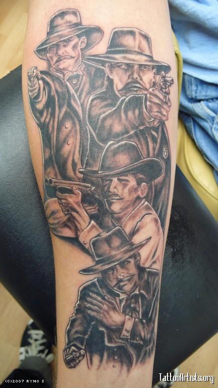 Tombstone Movie Tattoos : tombstone, movie, tattoos, Tombstone, Tattoos