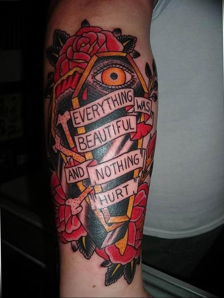 Coffin Tattoo Meaning : coffin, tattoo, meaning, Photo, Tattoo, Coffin, 29.12.2018, №201, Drawing, Tattoovalue.net
