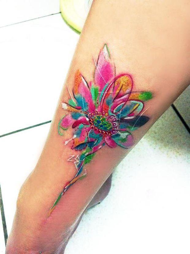 Watercolor Tattoo Tattoos Para Mujer 3d Buscar Con Google
