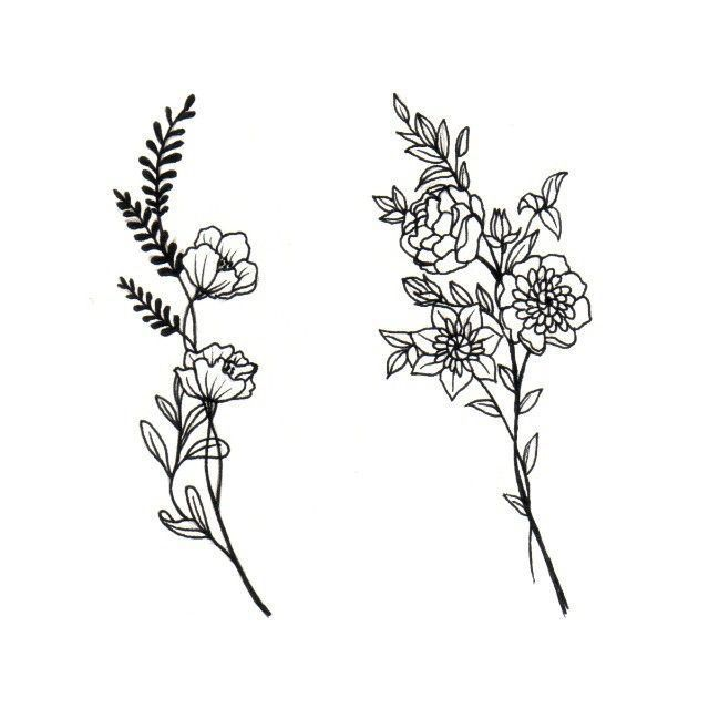 Wheat Tattoo Design