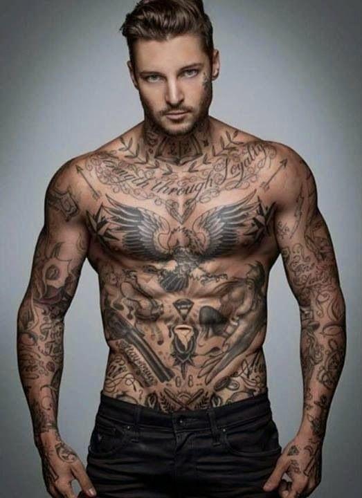 Eagle Tattoo Designs For Men Back