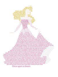 Disney Tattoo - Princess Aurora in text Wall Art - Disney ...