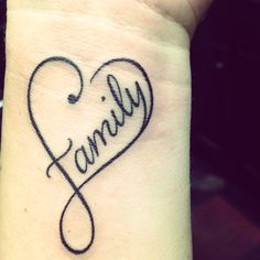 Family Forever Tattoo Designs