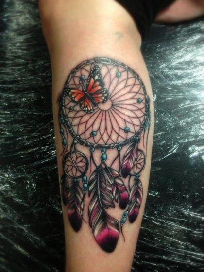 friend tattoos - 30 dreamcatcher