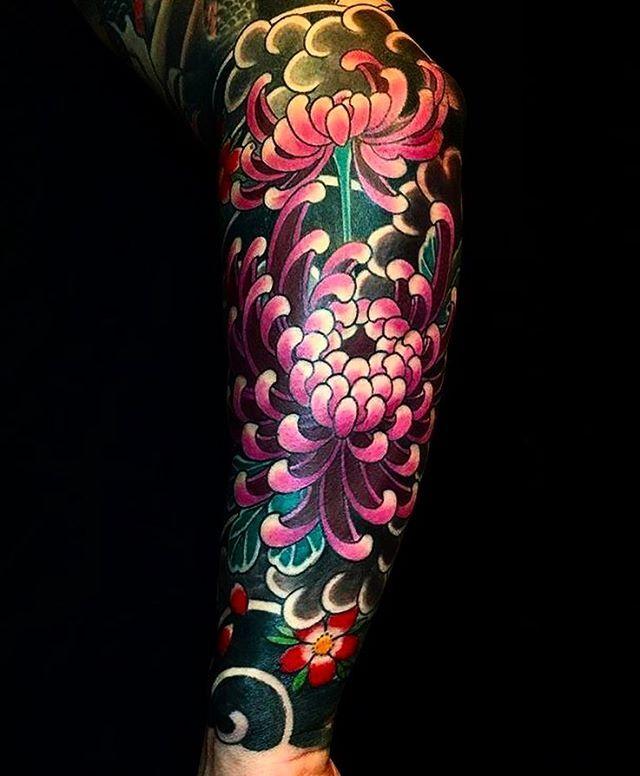 Color Sleeve Tattoo Ideas