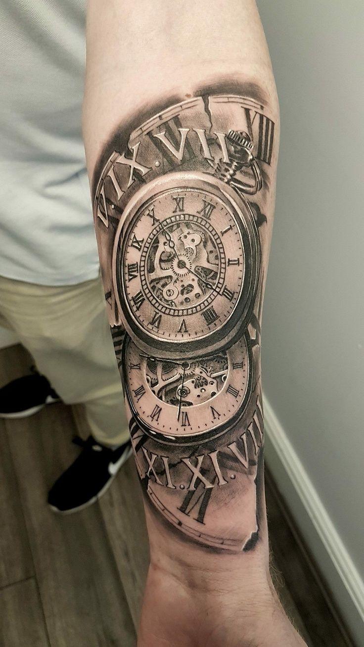 Tattoo Trends Tatuaje De Reloj Para Hombre En El Brazo