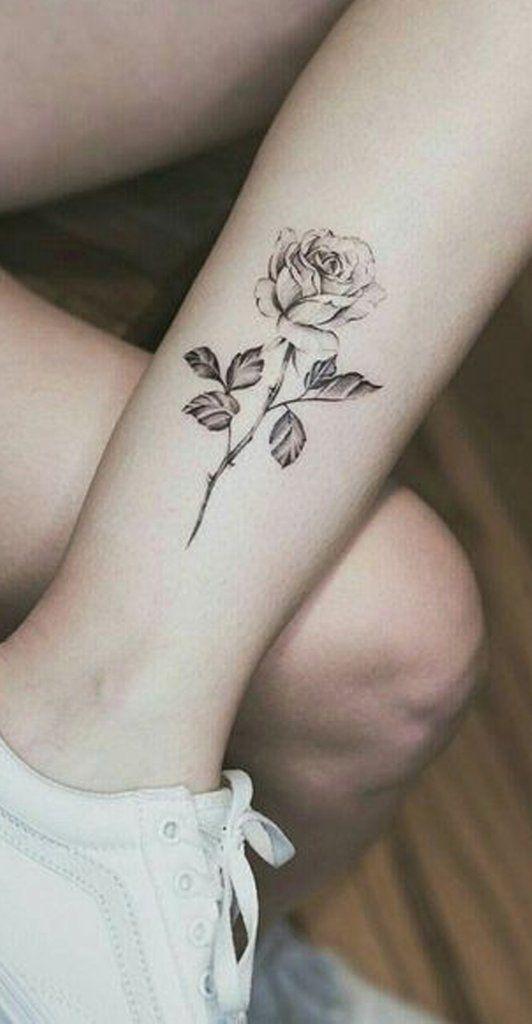 Small Watercolor Flower Tattoo Ideas