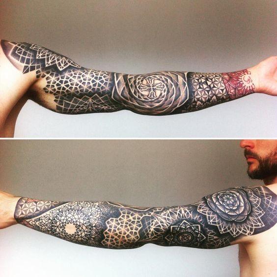 Geometric Tattoo 95 Tatuajes Para Hombres En El Brazo Ideas