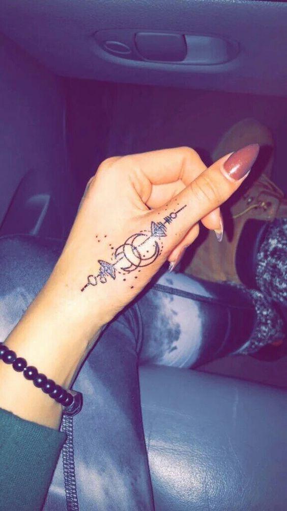 Tattoo Trends Tatuajes Del Sol Y La Luna Pequeños Elegantes Y