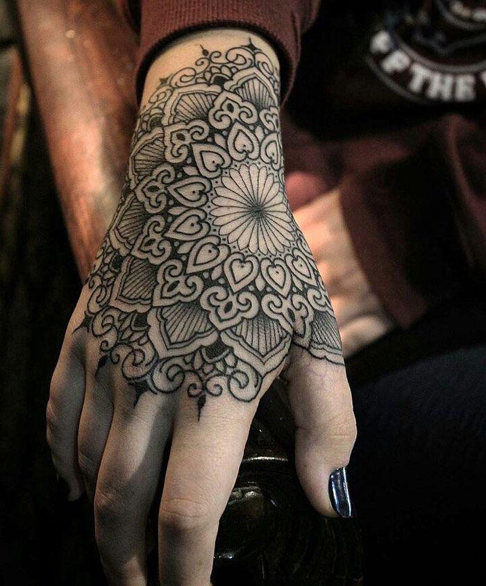 Tattoos On Hand Pics