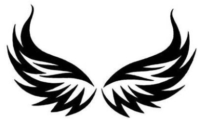 Eagle Wings Tattoo Stock Photos Images Pictures